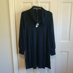 LOFT Cowl Neck Dress XL